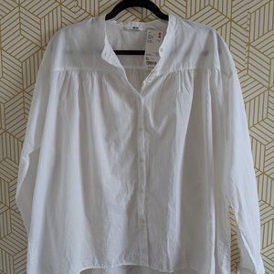 [NWT] 100% cotton white shirt size XL